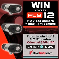 Enter to win 1 of 3 Fly12 HD video camera + bike light combos in BikeRoar's contest!