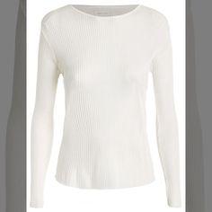 Linda! Sim ou Não ?   Blusa Feminina Tricot Pleat  Off White  COMPRE AQUI!  http://imaginariodamulher.com.br/look/?go=2hC6FAt  #comprinhas #modafeminina#modafashion  #tendencia #modaonline #moda #instamoda #lookfashion #blogdemoda #imaginariodamulher