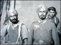 Hindus of Hitler's Germany. The Sikhs were warriors but they were also Aryan....thus they became honorary Aryans and part of the Waffen SS