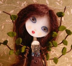 Kaya the Healing Tree Girl  Art doll  One of a Kind by shimapatel, $44.00