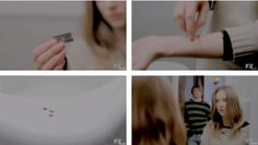 """Tate: """"You're doing it wrong.""""#AHS"""