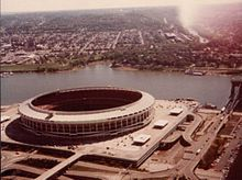 Cincinnati Bengals - Cinergy Field - Capacity: 59,754 - 1970 to 1999 - (Stadium Formerly Named Riverfront Stadium 1970 to 1996)