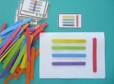 Renkli Dil Çubukları İle Eğitici Oyuncak Yapımı ve Kalıbı - Okul Öncesi Eğitici Oyuncak Yapımı
