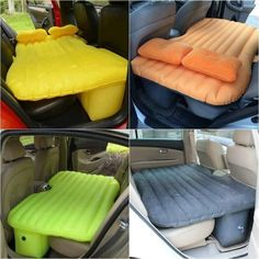 Bed in car
