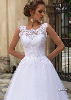 Vestido de noiva Equilíbrio - Coleção Lago dos Cisnes 2018 www.russianoivas.com