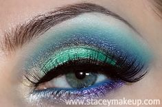 Dicas de maquiagens : Sea Foam