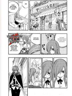 "loveandlucky: ""O O Fnathalisr: ""Omake/extra from the volume of fairy tail 100 years quest. "" "" ERZA GIRL YOU JUS- 💀💀 Fairy Tail Love, Fairy Tail Art, Fairy Tail Ships, Fairy Tail Anime, Erza Et Jellal, Fairy Tail Jellal, Anime Naruto, Manga Anime, Gruvia"