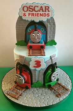 Thomas & Friends, Thomas The Tank Engine Cake