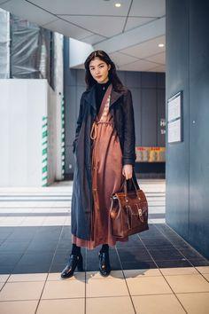 J/w - soym8:   rina during tokyo fashion week f/w 2016