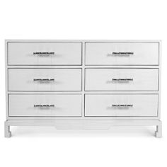 Modern Dressers, Cabinets and Shelving | Preston Six-Drawer Console | Jonathan Adler
