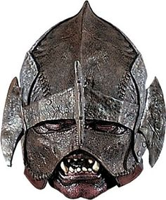 [Mens Halloween Costumes] Rubie's Costume Men's Lord Of The Rings Deluxe Adult Uruk-Hai Mask, Multicolor, One Size -- Click image to review more details. (This is an affiliate link) #MensHalloweenCostumes