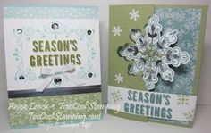 For All Things: Oak Leaf Border Cards