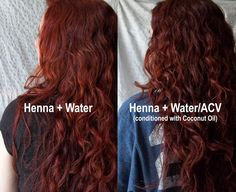 All Things Crafty: Henna Hair Color Update