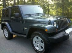 2008 JEEP WRANGLER SAHARA 4X4, STEEL BLUE METALLIC, 6CYL, AUTOMATIC, ONLY 10K MILES