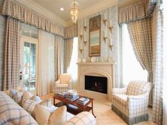 Chrisley master bedroom sitting room by Toby West ~LB Bedroom Sitting Room, Home Bedroom, Master Bedrooms, Chrisley Knows Best House, Atlanta Mansions, English Country Decor, Country Charm, Southern Charm, Southern Living