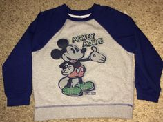 Sale Vintage MICKEY MOUSE Circa 1928 Casual Sweaters by casualisme