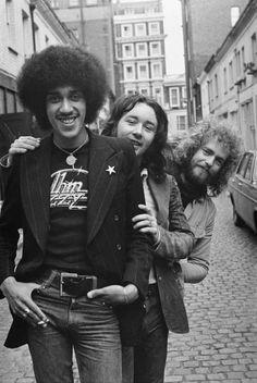 Brian Downey, Thin Lizzy, Lemmy Motorhead, Rock Bands, Punk, Singer, Stock Photos, Popular