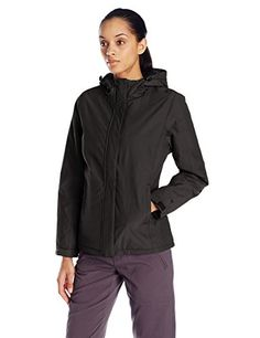 White Sierra Womens Rainier Jacket Black Large *** Read more  at the image link.