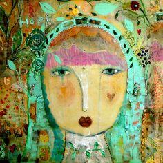 Our Lady of Perpetual Hope, artwork by Sarah Kiser