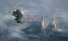 winter flight by JimHatama.deviantart.com on @deviantART