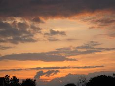 Agawam, MA Sunset after Thunderstorm - 5/30/2012
