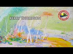 Fine art tips with a Free Whimsical Acrylic Art Lessons with Kerry Thompson on Colour In Your Life - YouTube