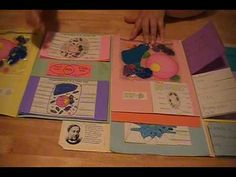 Lapbook - Cells - YouTube