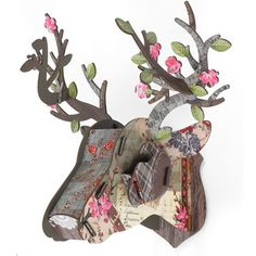 V Victoria Albert Museum > Spring Pattern Stag Head Object (Medium)