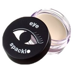 Love this stuff!  Laura Geller Eye Spackle. Provides a base for eyeshadow. It evens and brightens the lid and the inner eye. Very light consistency. Easy on the eyes! ; )