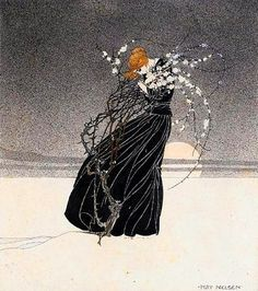 History of a mother by Kay Nielsen