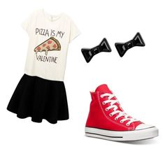 """Happy Valentine's Day"" by ains9 on Polyvore featuring beauty, Converse and Marc by Marc Jacobs"
