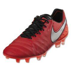 super popular 6583b a51c8 Sale 50% Nike Tiempo Legend VI FG Men s Soccer Cleats Light Crimson Total  Crimson Metallic Silver