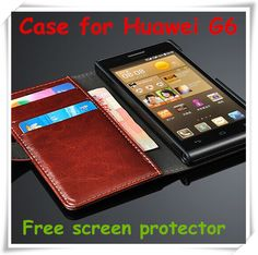 Cheap case v3, Buy Quality g6 35 lamp holder directly from China g6 white Suppliers:  Huawei Ascend G6 wallet case Cover Huawei Ascend P6 MINI cover Ascend G6 mobile phone case Free screen prot