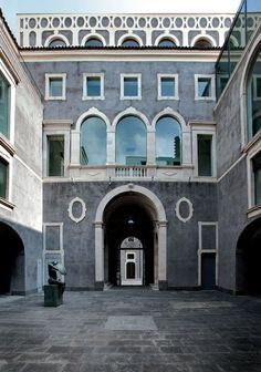 Palazzo Valle - Fondazione Puglisi Cosentino per l'arte in Catania, Sicily | Exhibitions of Modern and Contemporary Art { more info at www.fondazionepuglisicosentino.it }