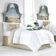 Beautiful headboards!