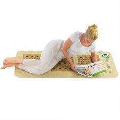 Mesh JT Mat Full Short 6024 Firm - Photon PEMF InfraMat Pro® - HealthyLine™ Beach Mat, Toddler Bed, Outdoor Blanket, Mesh, Child Bed, Fishnet