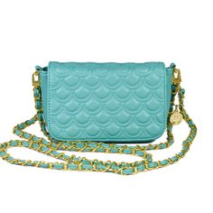 This bag has little scales/scallops stitched into it! So adorable. Dress it up or down! by Big Buddha