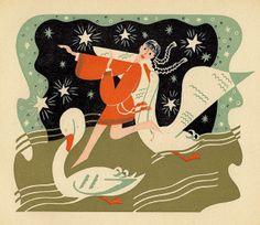 """""""Feodora"""" illustrated by Jan Goeting,1947"""