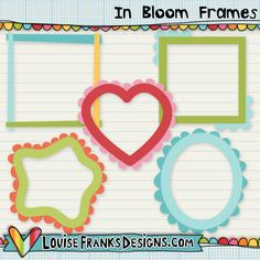This is a set of 8 frames, supplied in png form at 300dpi. These were created to match our In Bloom collection (don't forget to check out the rest of the collection if you'd like matching items).  We have personal and commercial use options available for this item, including layered psd and vectorised eps formats. Please see the store for more information, or use our search facility.