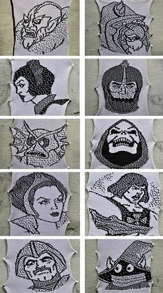 Knitted He-Man and the Masters of the Universe