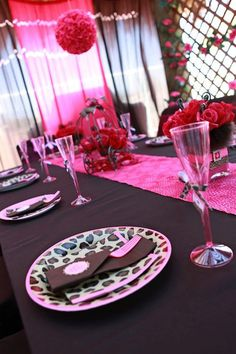 LEOPARD PRINCESS Girl Birthday Party