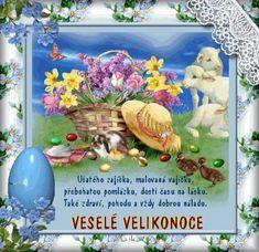 velikonocni_prani Spring Crafts, Runes, Sweet Home, Easter, Frame, Painting, Anna, Home Decor, Happy Easter