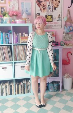The Refine Mint Dress is perfect in this pastel setting. Click for details! #stylegallery