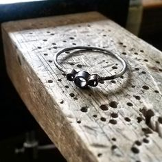 Work in progress....ring before the stones are set! I think of it as a ring skeleton.  #Jewellery#JewelleryMaking #silverring #tubesetting #ringcommission #ringmaking #stonesetting #crouchendjeweler #jewlerydesign #jewlerymaking #sapphirering #craft #workinprogress #WIP #instajewelry