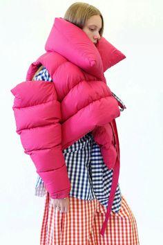 padded jacket by Marques' Almeida