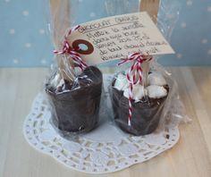 Une irrésistible envie de ...: Sucettes de Chocolat (pour chocolat chaud) Avec mini marshmallow!! uneirresistibleenvie.blogspot.fr