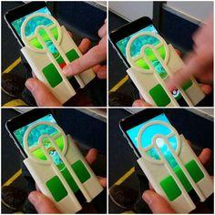 #Pokémon GO : avec cette coque vous ne gâcherez plus une Pokéball !