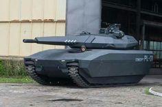 Le char furtif polonais, un simple concept