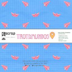 Mini álbum 15x15cm de la nueva colección de #escrap, #trotamundos, para hacer maxi proyectos Content, Mini Albums, Paper Envelopes, Projects