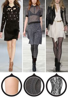 12 Patterned Tights That Will Really Amp Up Your Outfit - For Date Night  - from InStyle.com
